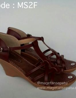 Sandal Kulit Wanita Kode MS2F