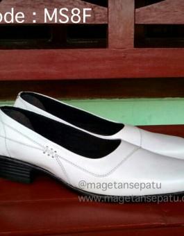 Sepatu Pantofel Wanita Kode MS8F Warna Putih