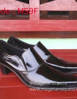 Sepatu Pantofel Wanita Kode MS9F Warna Hitam