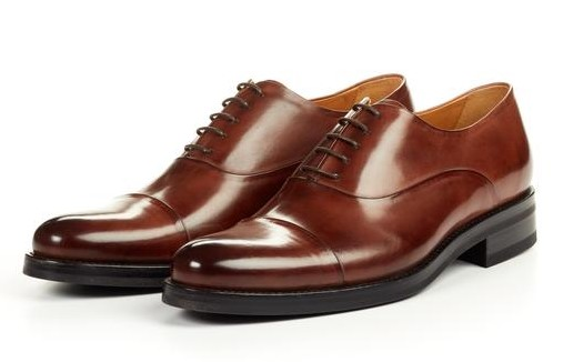 Modern Cap Toe Oxford Brown