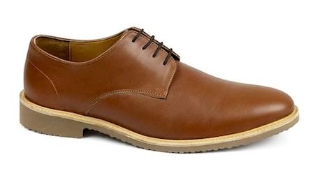 Sepatu Casual Derby Brown