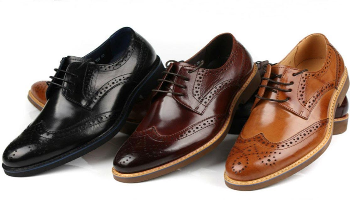 Derby Shoes Wing Tip