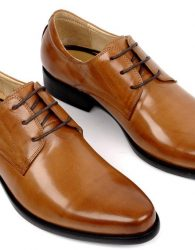 Sepatu Formal Tan (Derby Shoes)