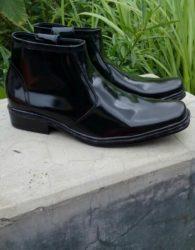 Sepatu Formal Boot Warna Hitam MS6M
